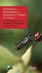 Hétéroptères phytophages et prédateurs d'Afrique de l'Ouest - site ...