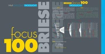 BRIESE focus100 TAGESLICHT DAYLIGHT HMI TAGESLICHT