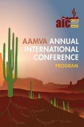 Download program - American Association of Motor Vehicle ...