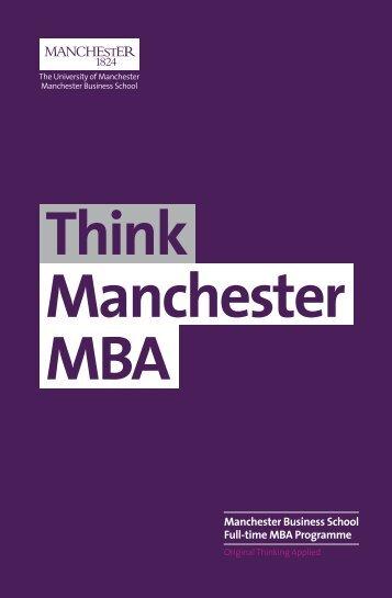 Full Time MBA Brochure