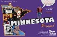 mn voices postcard 0.. - One Voice Mixed Chorus