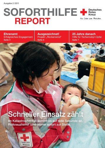 aktuellen Soforthilfe-Report 2/2011 - DRK