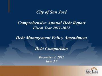 City of San Jose Presentation
