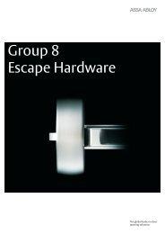 Group 8 - Door & Specialised ... - Assa Abloy