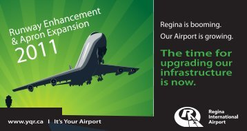Runway Enhancement & Apron Expansion - Regina International ...