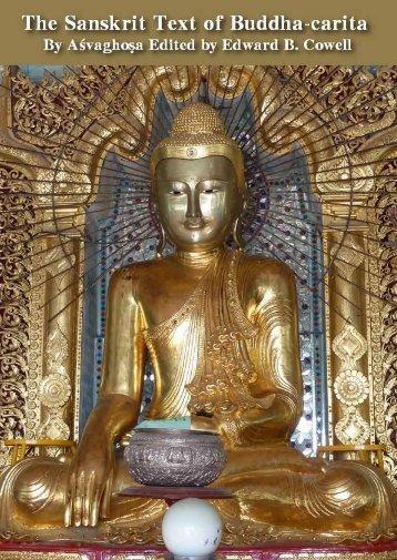 The Sanskrit Text of Buddha-carita Aśvaghoṣa - buddhanet-de-index