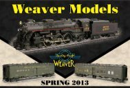 Click Here To View Our Spring 2013 Catalog - Weaver Models