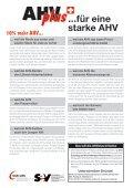 «AHVplus: für eine starke AHV» - SBV - Seite 2
