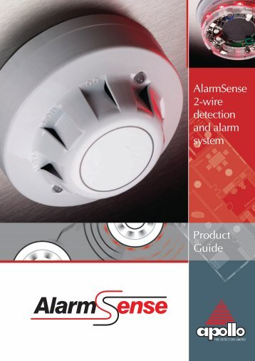 AlarmSense Product Guide - Apollo Fire Detectors Limited