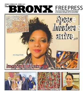 Bronx Free Press, Space Invaders, Vol 3 No 41 - BravinLee programs
