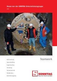 Teamwork - Sonntag Baugesellschaft mbH & Co. KG