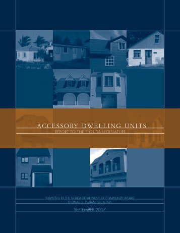 Accessory Dwelling Units - Land Use Law