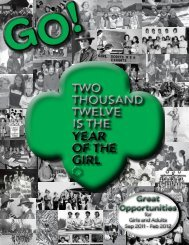 GO! Great - Girl Scout Council - Colonial Coast