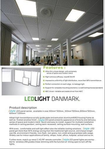 LEDlight Danmark panel.cdr - Energy Supply DK