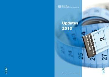 Updates 2013 – Kursprogramm - Stadt Zürich