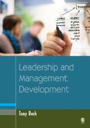Leadership and Management Development in Education (Education ...