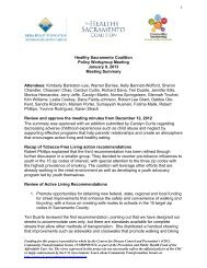 Jan. 9, 2013, Policy Workgroup Meeting Summary (PDF)