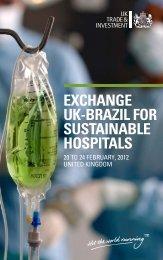 exchange uk-brazil for sustainable hospitals - MediWales