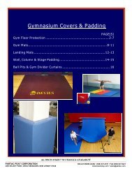 Gym Guard Floor Protection, Gym Mats and Indoor Wall ... - Beam Clay