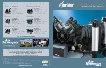 Revolutionary Compressor Filtration With Membrane Dryer