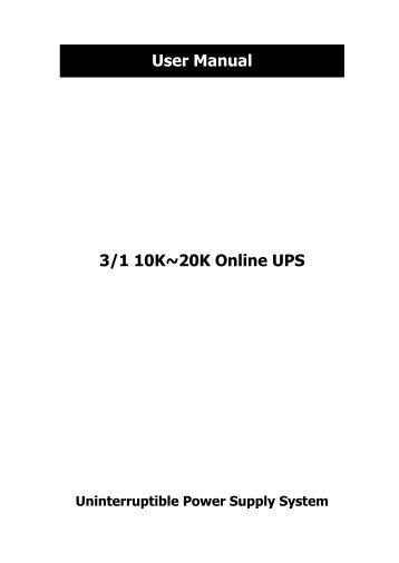 Page 1 CONNECT TVSS Back-UPS ® RS/XS 1200 User's Manual 1