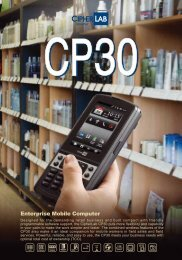 CP30 Datasheet.. - Autoidfirst.co.uk