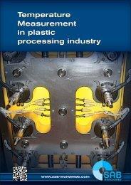 Temperature measurement in plastic processing industry