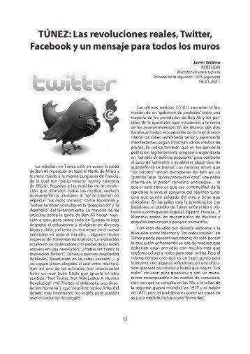 TúNEz: Las revoluciones reales, Twitter, Facebook y un mensaje ...