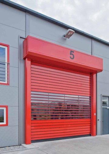 Πόρτα με σπιράλ οδηγό HSS 6530 - Anno Doors Solutions