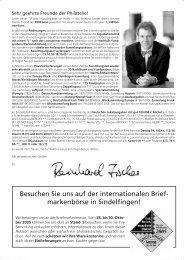 Achtung! Wichtig! - Dr. Reinhard Fischer Briefmarken Auktions