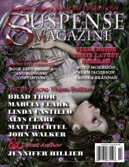 Suspense, Mystery, Horror and Thriller Fiction - Suspense Magazine