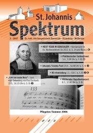 3 (Heft Mai - Jul. 2007) - St. Johannis Bemerode
