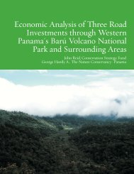 Economic Analysis of Three Road Investments through Western ...
