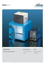 Produktinformation UVACUBE 100 - Dr. Hönle AG