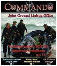 Joint Ground Liaison Office Training today's SOF for ... - Hurlburt Field