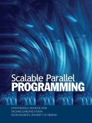 Scalable Parallel PROGRAMMING with CUDA - ACM Digital Library