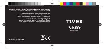 W273 NA 355-095000 TECHNOLOGY - Timex