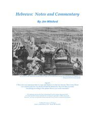 Hebrews: Notes and Commentary PDF - Gospel Lessons