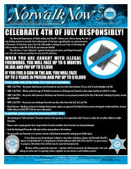 CELEBRATE 4TH OF JULY RESPONSIBLY! - City of Norwalk