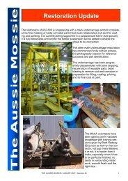 The Aussie Mossie - Mosquito Aircraft Association of Australia