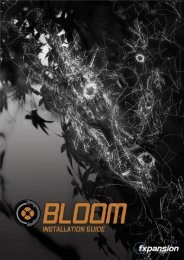 Bloom Installation Guide - FXpansion1.com