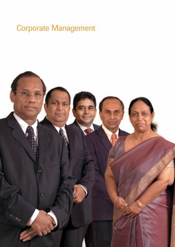 Corporate Management - Peoples Bank