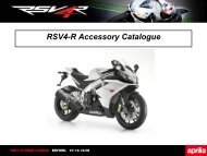 RSV4-R Accessory Catalogue - BikePoint