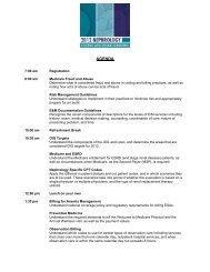 2012 Coding and Billing Seminar Session Descriptions - Renal ...