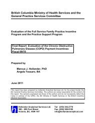 Evaluation of the Chronic Obstructive Pulmonary Disease ... - GPSC