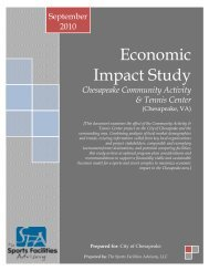 Economic Impact Study - City of Chesapeake