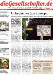Juni 2009 - Die Gesellschafter.de