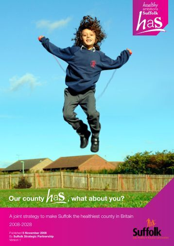 Our county , what about you? - NHS Suffolk