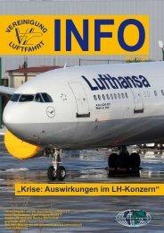 """""""Krise: Auswirkungen im LH-Konzern"""" - Vereinigung Luftfahrt eV"""