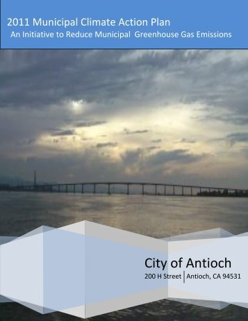 2011 Municipal Climate Action Plan - Statewide Energy Efficiency ...